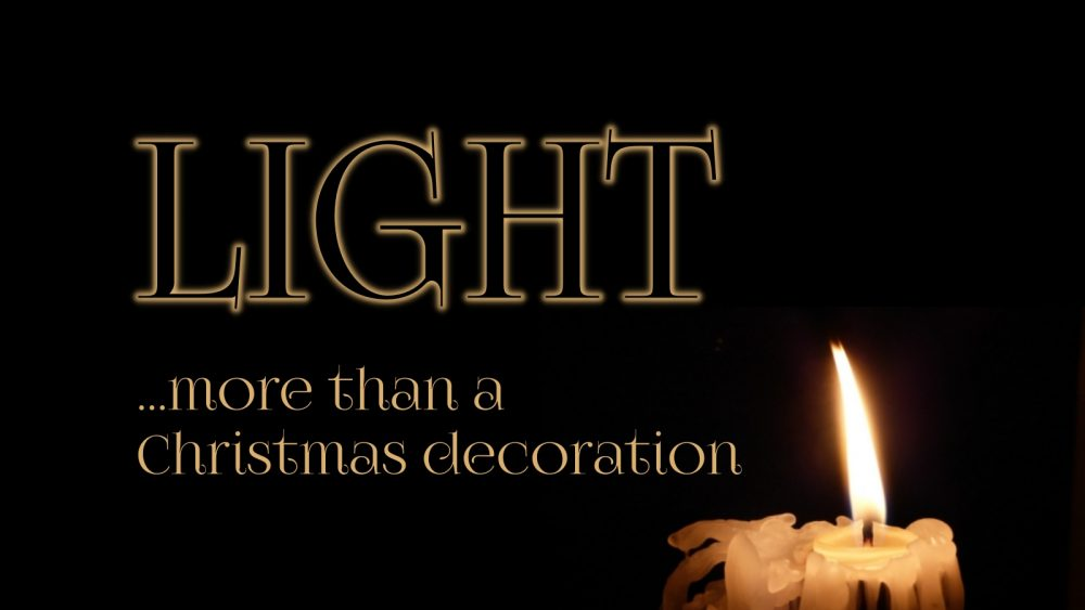 LIGHT: More Than a Christmas Decoration