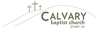 Calvary Baptist Church in Evart, Michigan Logo